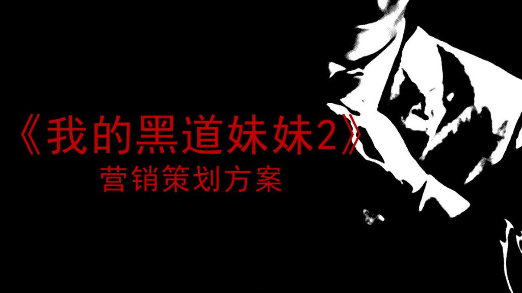 网络大电影《我的黑道妹妹2》营销策划案